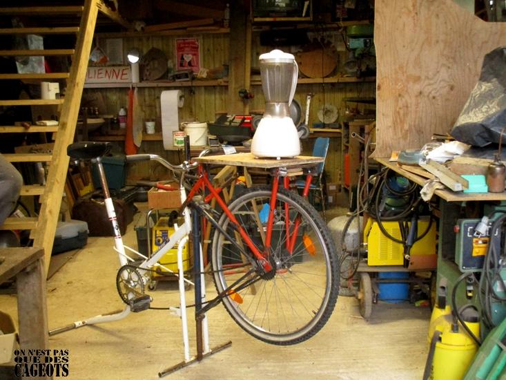 vélo mixer